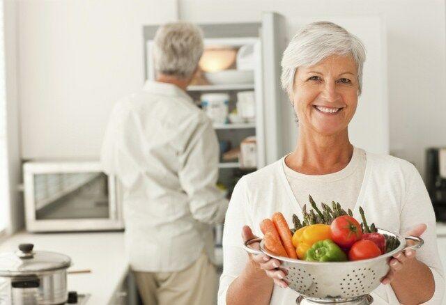Időskori táplálkozi tippek