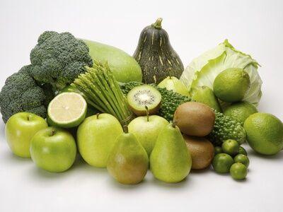 Fogyassz zöld ételeket.