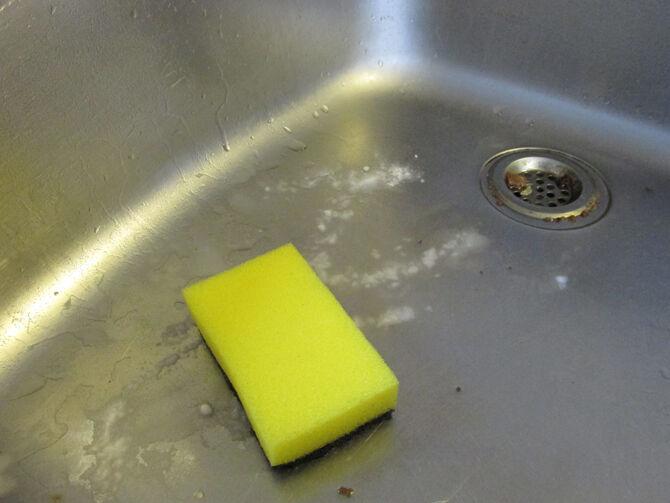 A mosogató tisztántartása