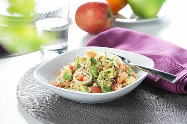 Barnarizs saláta recept