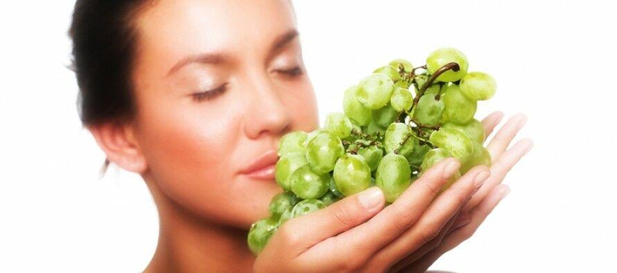 Szépségápolás szőlővel