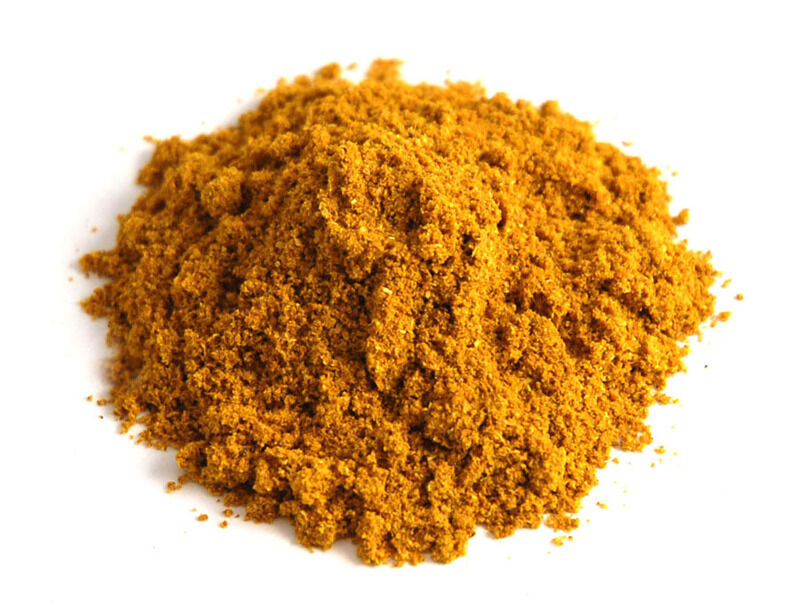 Ételekhez való fűszerek. Rizsételek: curry, gyömbér, sáfrány, fehérbors