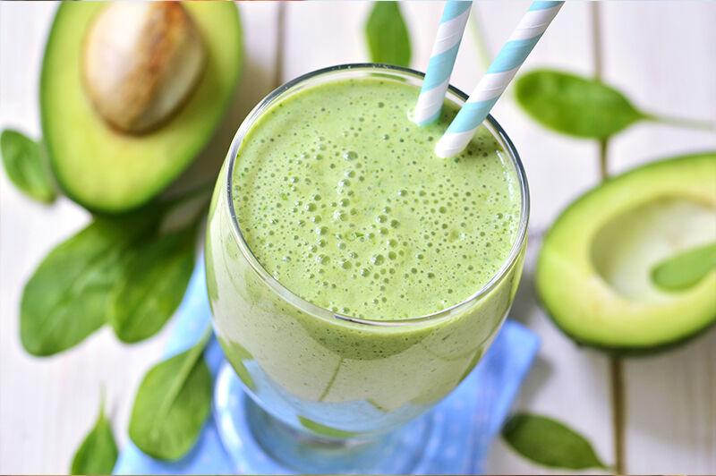 Chia magos zöld smoothie