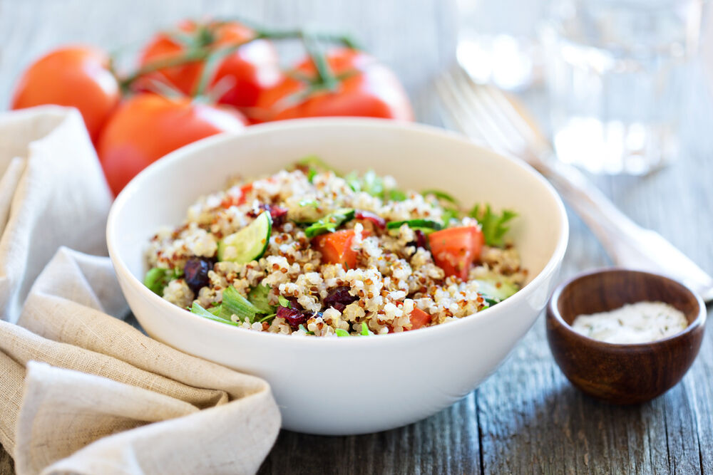 Quinoa saláta recept.