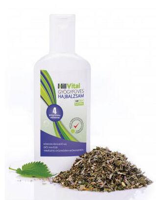 A HillVital Gyógyfüves Hajbalzsam egy vegyszermentes 4 gyógynövényes termék ami segíthet a töredezett haj ápolásában.