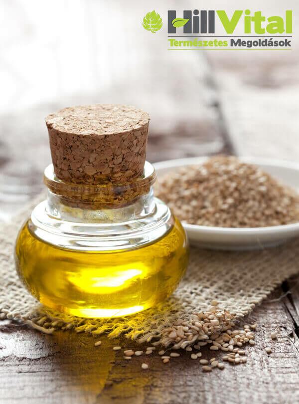 A szezámolaj gyógyhatásai.Tudd meg, hogy milyen hatással van a szezámolaj a szervezetedre.