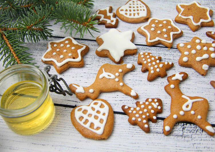 Egy karácsonyi mézeskalács recept.