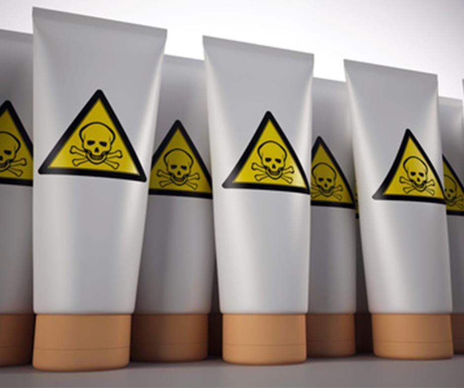 A következő összetevők igencsak káros hatással rendelkeznek a bőrre és a szervezetre.