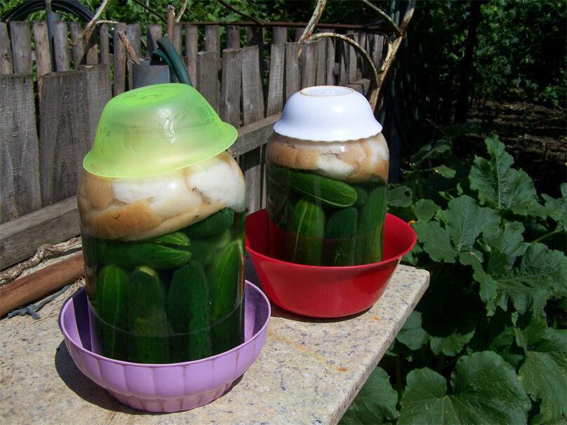 Kovászos uborka készítés