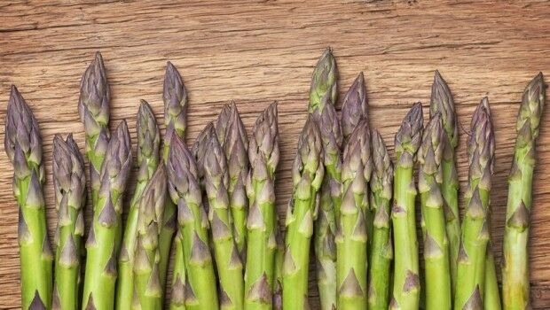 Lúgisítás zöldségekkel - spárga