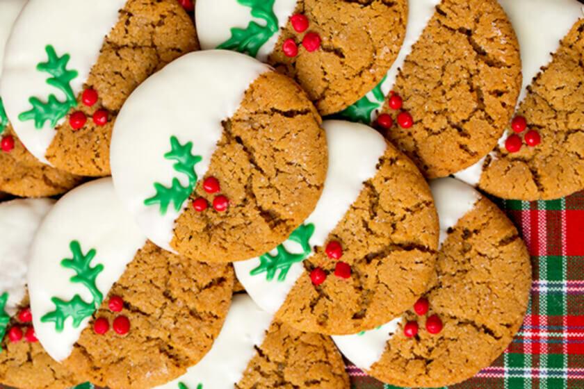 Készíts te is finom karácsonyi kekszet.