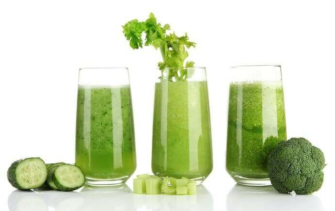 Zöld turmix recept