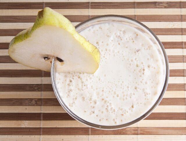 Vaníliás körtés smoothie