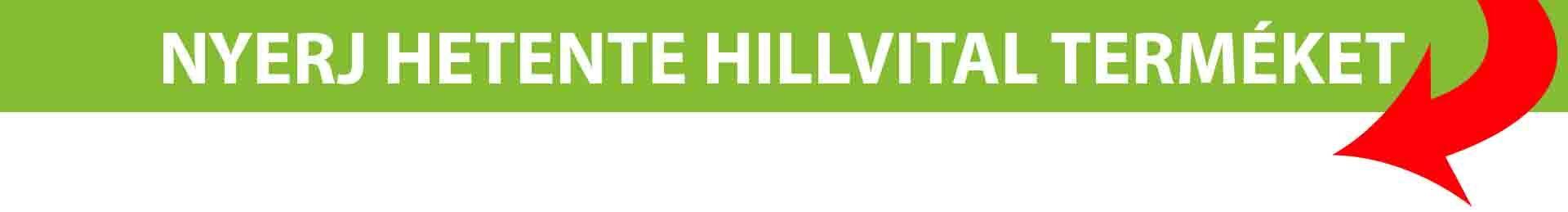 HillVital nyereményjáték