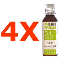 Fitt ecet - 4 üveg