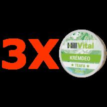 Teafa krémdeo - 3db.