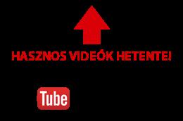 Youtube feliratkozás gomb.