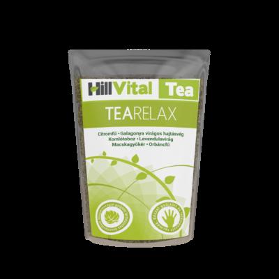 stresszoldó, nyugtató tea