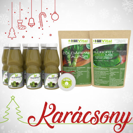 Karácsonyi zöld csomag 11790 Ft