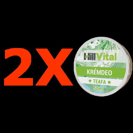 Teafa krémdeo - 2db.