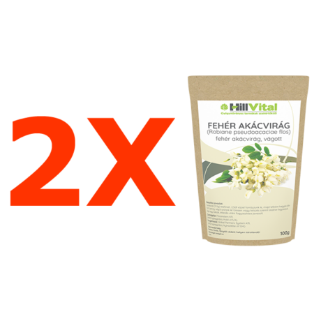 Fehér akácvirág tea - 2 db.
