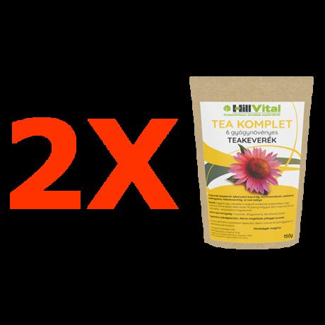 Tea Komplet - gyógynövényes teakeverék - 2db.