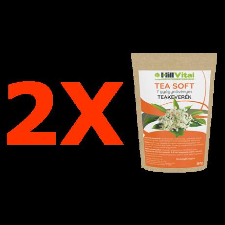 Tea Soft - gyógynövényes teakeverék - 2db.