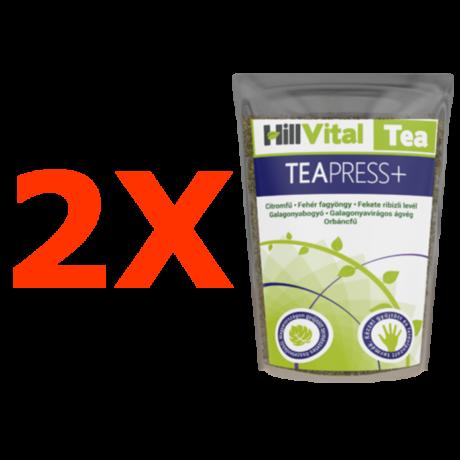 Tea Press + - gyógynövényes teakeverék - 2db.