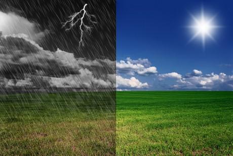 Időjárási frontok hatása a szervezetre.