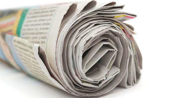 Az újságpapírt felhasználhatod.