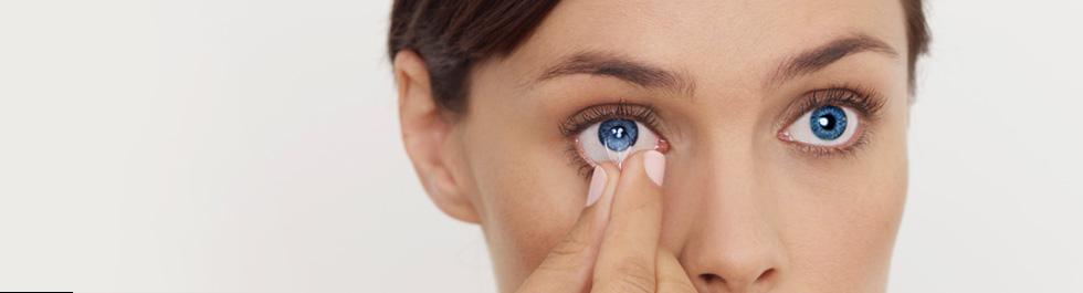 Tanácsok a kontaktlencse használatához.