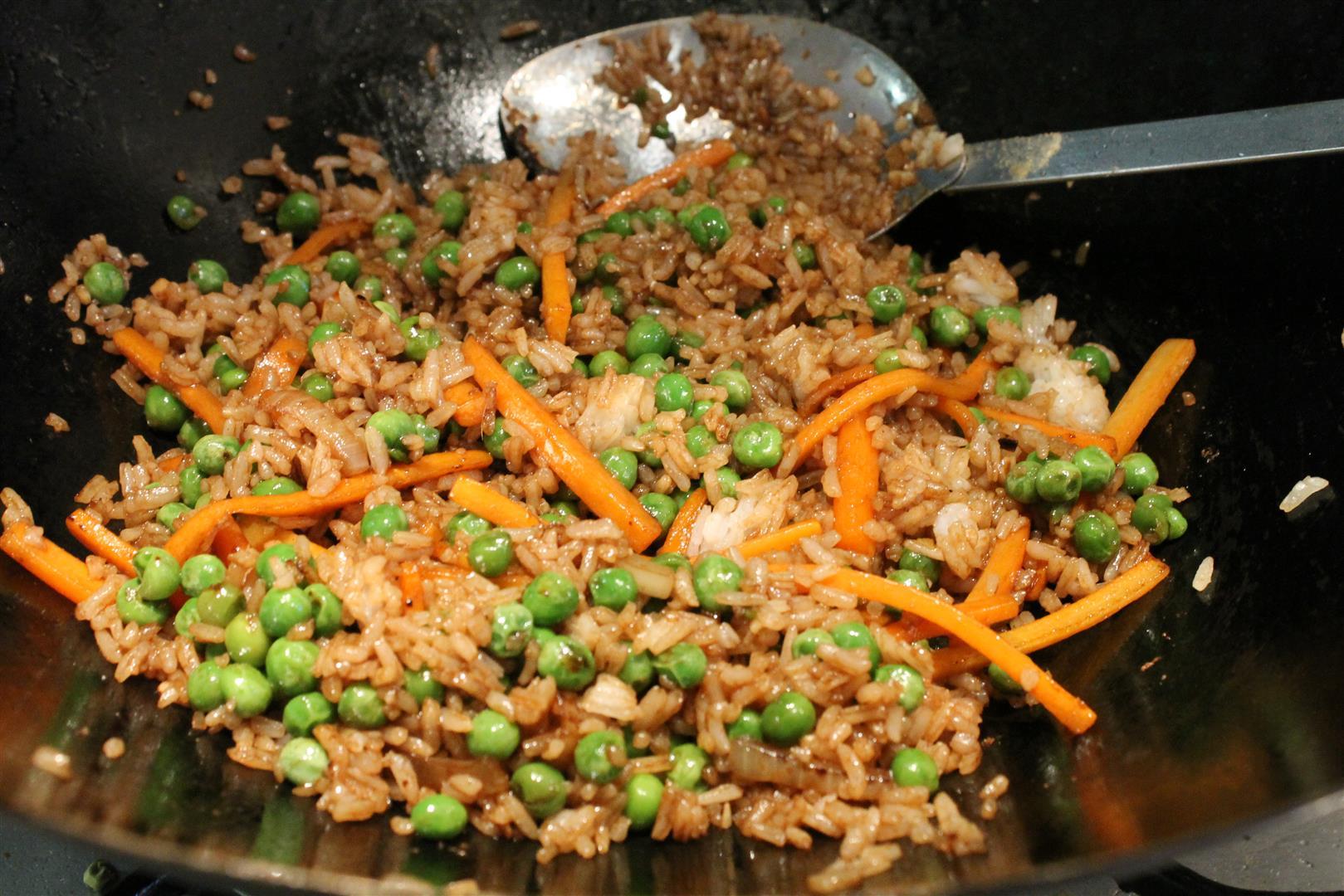 Zöldséges rizs elkészítése