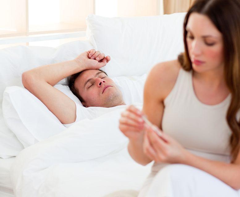Ha a férfi beteg