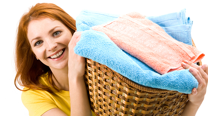 Megfelelő mosási hőmérséklet.