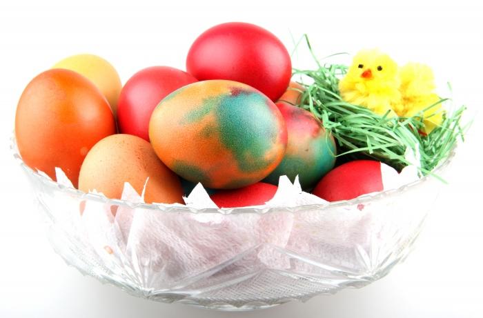 Természetes tojásfestés