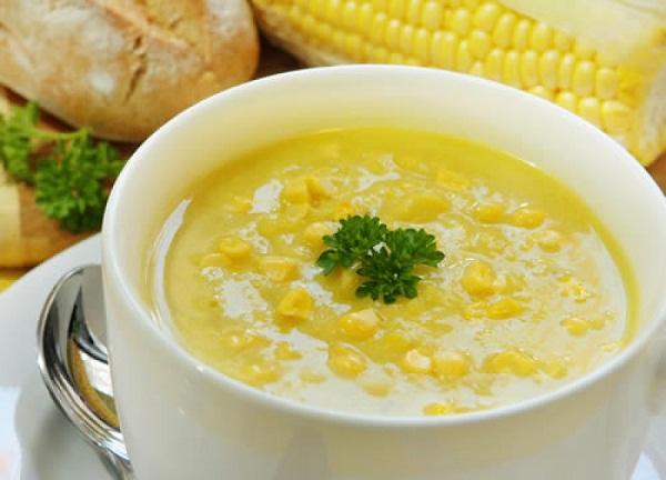 Kukorica krémleves recept.