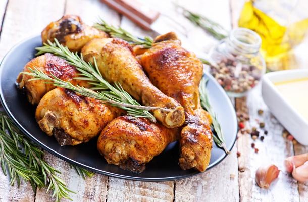 Különleges sült csirke