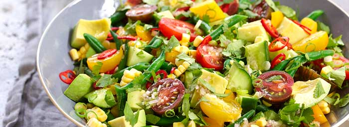 Tavaszváró saláta recept.