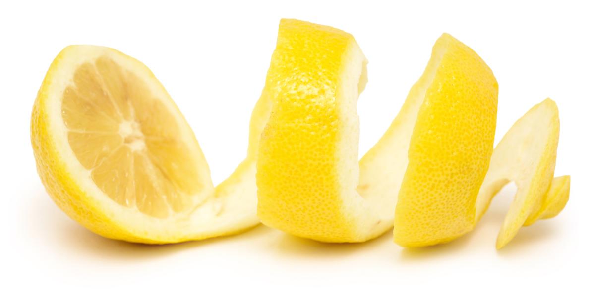 A citromhéj felhasználása.