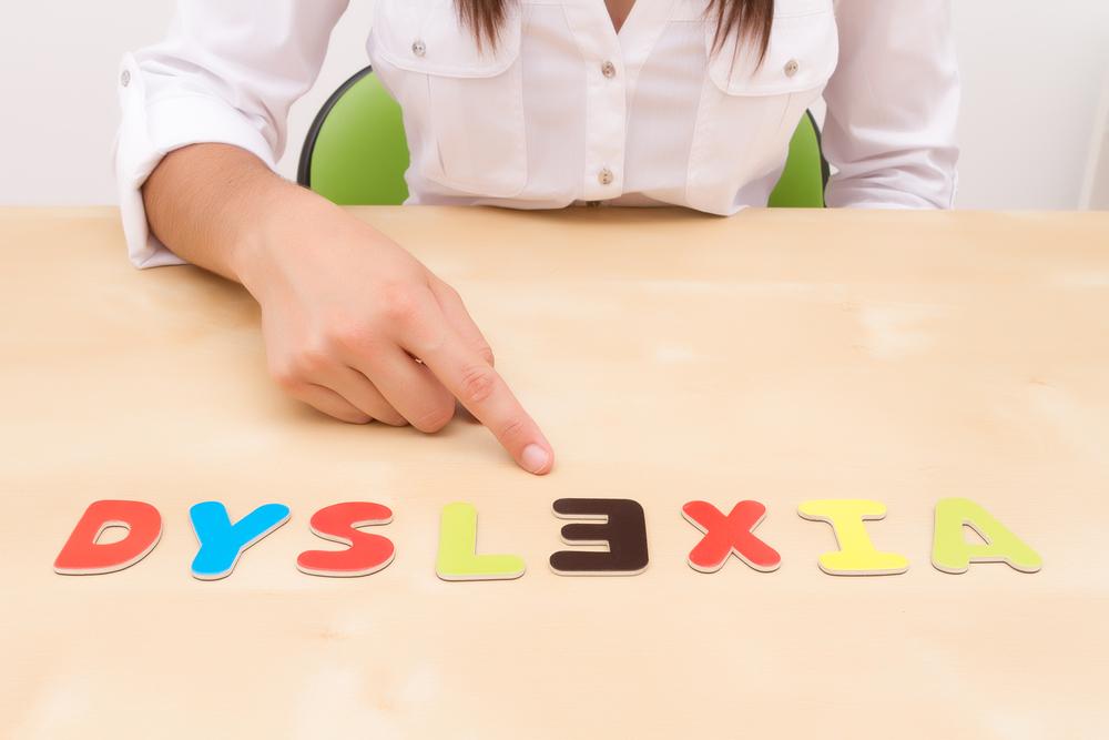 Diszlexia felismerése.