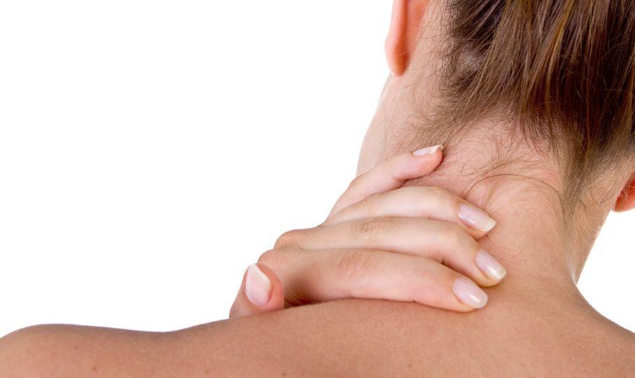 A nyakfájdalom kezelése.