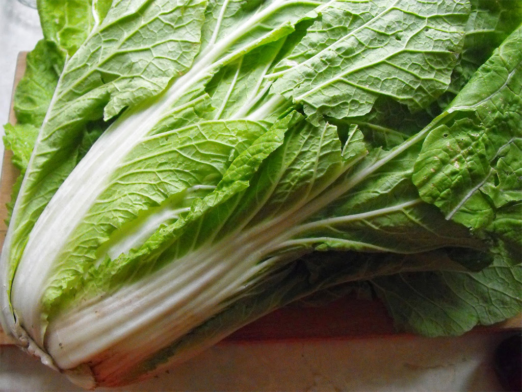 A kínai kel hatása, és egy saláta recept